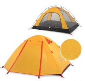 фото Палатка NatureHike P-Series 4 (4-х местная) 210T 65D polyester Graphic (6927595729694) #3