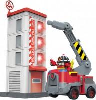 Игровой набор Silverlit Robocar Poli 'Пожарная станция с фигуркой Рой' (83409)