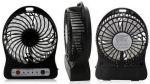 фото Мини-вентилятор Mini Fan с аккумулятором (Black) #5