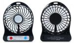 фото Мини-вентилятор Mini Fan с аккумулятором (Black) #4