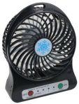фото Мини-вентилятор Mini Fan с аккумулятором (Black) #3
