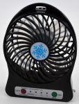 фото Мини-вентилятор Mini Fan с аккумулятором (Black) #2