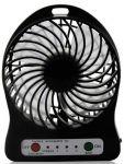 Подарок Мини-вентилятор Mini Fan с аккумулятором (Black)