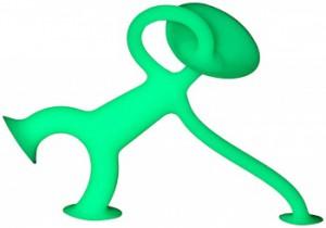 Игрушка Moluk 'Уги' младший ,GLOW,светится (8 см) (7640153432100)
