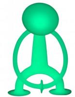 Игрушка Moluk 'Уги' взрослый, GLOW,светится (13см) (7640153431103)