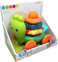 Каталка B Kids 'Улитка', с шариками (004882I)