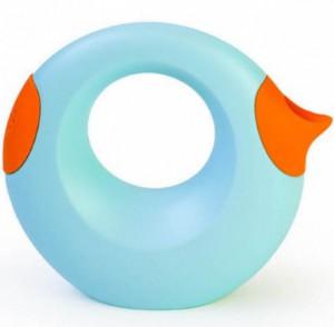 Лейка Quut 'Cana', голубой с оранжевым, 1 л (5425031170570)