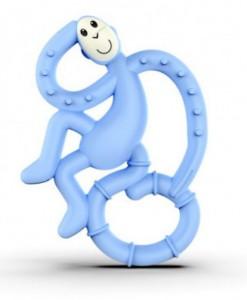 Игрушка-грызун Matchstick Monkey 'Маленькая танцующая обезьянка' (голубой, 10 см) (659436975651)