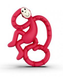 Игрушка-грызун Matchstick Monkey 'Маленькая танцующая обезьянка' (красный, 10 см) (656436975620)
