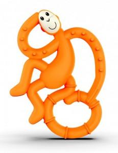 Игрушка-грызун Matchstick Monkey 'Маленькая танцующая обезьянка' (оранжевый, 10 см) (659436975637)