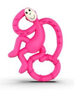 Игрушка-грызун Matchstick Monkey 'Маленькая танцующая обезьянка' (розовый, 10 см) (659436975613)