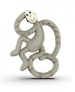 Игрушка-грызун Matchstick Monkey 'Маленькая танцующая обезьянка' (серый, 10 см) (659436975590)