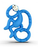 Игрушка-грызун Matchstick Monkey 'Маленькая танцующая обезьянка' (синий, 10 см) (659436975606)