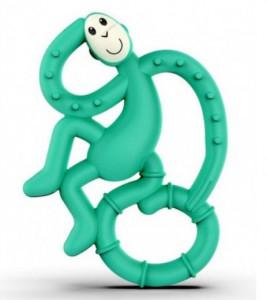 Игрушка-грызун Matchstick Monkey 'Маленькая танцующая обезьянка' (зеленый, 10 см) (659436669895)