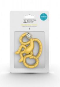 фото Игрушка-грызун Matchstick Monkey 'Маленькая танцующая обезьянка' (желтый, 10 см) (659436975644) #3