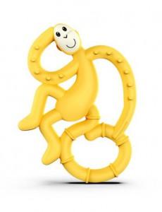 Игрушка-грызун Matchstick Monkey 'Маленькая танцующая обезьянка' (желтый, 10 см) (659436975644)