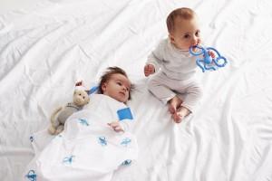 фото Подарочный набор Matchistick Monkey , Blue(пеленка,прорезыватель,мягкая игрушка) (659436669871) #3