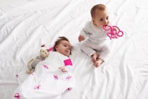 фото Подарочный набор Matchistick Monkey , Pink (пеленка,прорезыватель,мягкая игрушка) (659436669864) #4