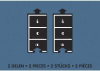Набор дополнительных элементов  Waytoplay 'Паркинг'(2 дорожные части) (8717953201614)