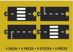 Набор дополнительных элементов  Waytoplay 'Прямые участки '(4 дорожные части) (8717953201683)