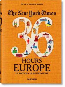Книга NYT. 36 Hours. Europe. 3rd Edition