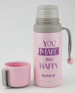 фото Термос Kite 350мл Enjoy розовый (K18-301-01) #3
