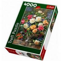 Пазл Trefl Цветы для Королевы Елизаветы 4000 элементов (5900511450033)