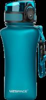 Бутылка для воды спортивная Uzspace (350ml) голубая (6007BL)