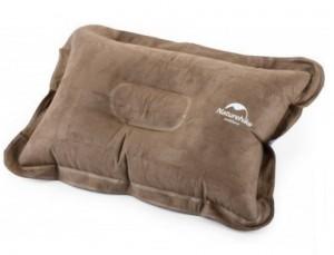 Надувная подушка Naturehike Comfortable Pillow brown (6927595718209)