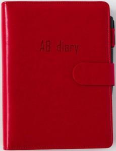 Бизнес-ежедневник AB diary, красный