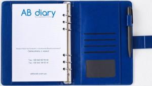 фото Бизнес-ежедневник AB diary, синий #2
