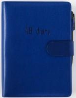 Бизнес-ежедневник AB diary, синий