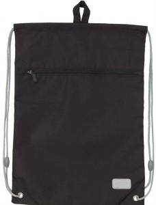 Сумка для обуви с карманом Kite Smart черная (K19-601M-34)