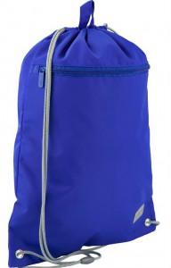 Сумка для обуви с карманом Kite Smart голубая  (K19-601M-36)