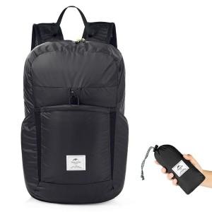 Рюкзак компактный NatureHike 'Ultralight' 25 л Black (6927595725092)