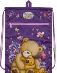 Сумка для обуви с карманом Kite Education Popcorn the Bear (PO19-601M)