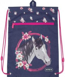 Сумка для обуви с карманом Kite Education Beautiful horse (K19-601M-11)