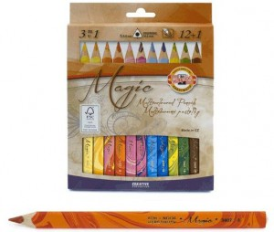 фото Карандаши цветные Koh-i-Noor 'Magic' 12 цветов + блендер (340801) #2