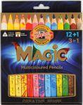 фото Карандаши цветные Koh-i-Noor 'Magic' 12 цветов + блендер (340801) #5