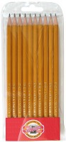 Набор карандашей графитовых Koh-i-Noor Н, 10 шт. (1570.H/10P)