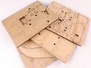 фото Дерев'яний 3D конструктор Зірка 'Лялькова кімната. Кухня' (115454) #6