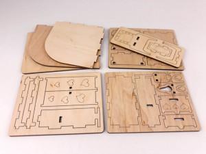 фото Дерев'яний 3D конструктор Зірка 'Лялькова кімната. Спальня' (115455) #6