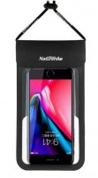Гермочехол для смартфона NatureHike  CB02 IPX8 6 inch, black  (6927595725856)