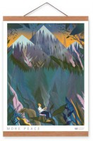 Подарок Постер Gifty с креплением Peace (39872)