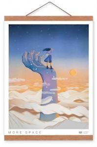 Подарок Постер Gifty с креплением Space (40296)