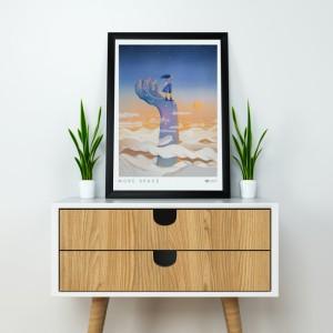фото Постер Gifty с креплением Space (40296) #2
