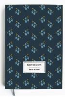 Блокнот Gifty 'Write&Draw Blue flowers' 16х9,5 см (5859)