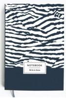 Блокнот Gifty 'Write&Draw Zebra' 16х9,5 см (5846)