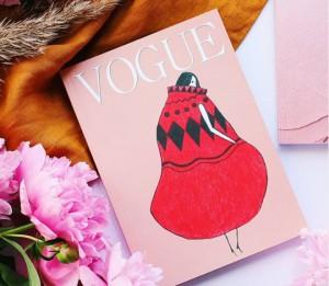 Книга Блокнот в точку. Vogue. Cream