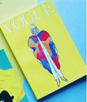 Книга Блокнот в точку. Vogue. Yellow